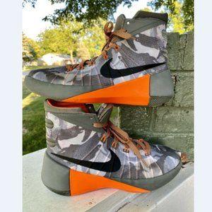 Nike Boys Hyperdunk Tumbled Grey/Silver/Black 6.5